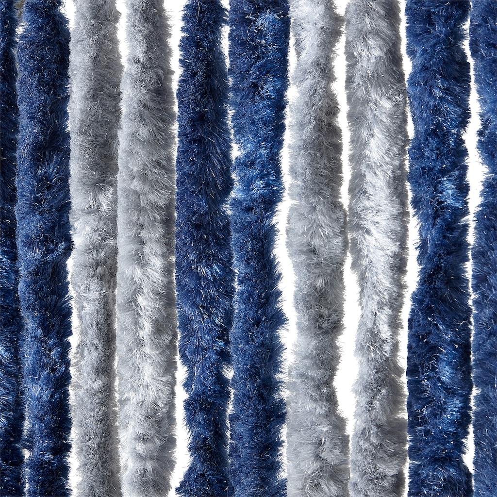 EXPLORER Insektenschutz-Vorhang, blau/silberfarben