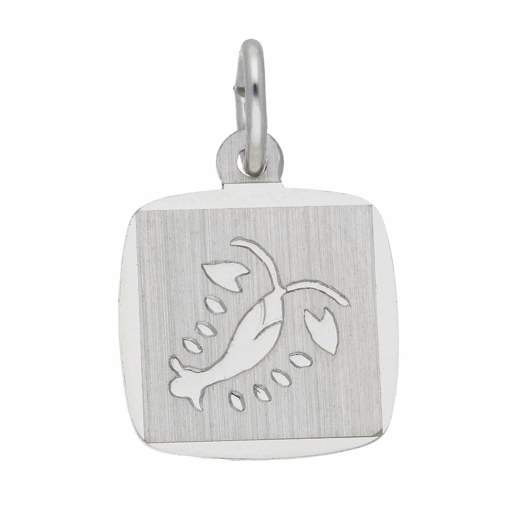 Adelia´s Kettenanhänger »925 Silber Sternzeichen Anhänger Krebs«