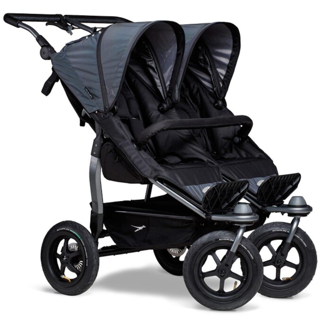 tfk Zwillingsbuggy »Sportkinderwagen duo«, 45 kg, Farbe, die im Dunkeln leuchtet; Zwillingskinderwagen; Kinderwagen für Zwillinge; Buggy für Zwillinge; Zwillingswagen