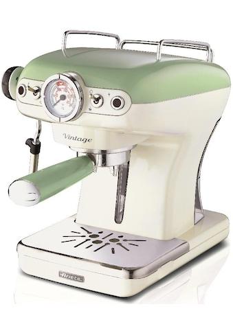 Ariete Espressomaschine 1389 Vintage grün - weiß kaufen