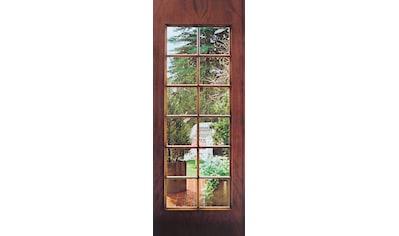 Papermoon Fototapete »Garden Door - Türtapete«, matt, Vlies, 2 Bahnen, 90 x 200 cm kaufen