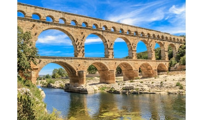 Papermoon Fototapete »Pont du Gard Aqueduct« kaufen