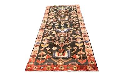 morgenland Wollteppich »Hamadan Teppich handgeknüpft blau«, rechteckig, 8 mm Höhe,... kaufen