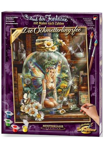 Schipper Malen nach Zahlen »Meisterklasse Premium - Die Schmetterlingsfee«, Made in... kaufen