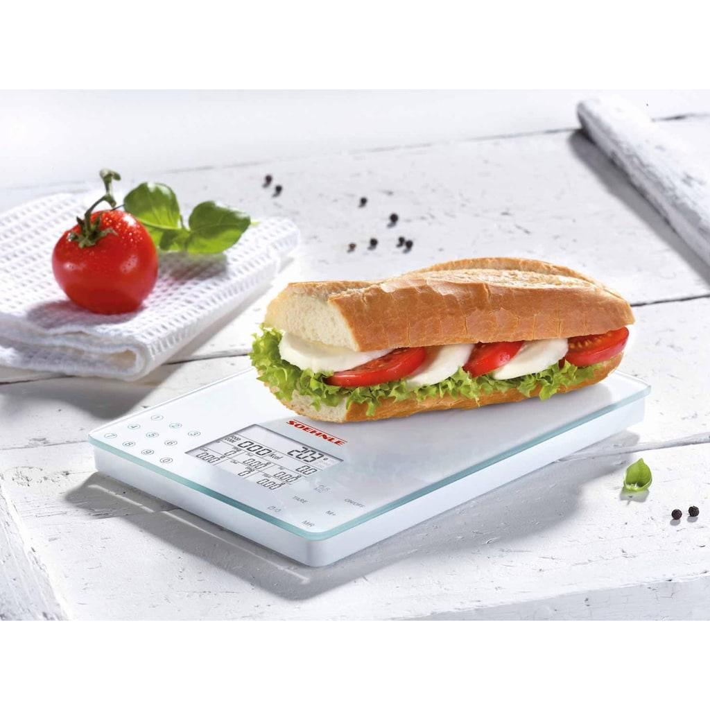 Soehnle Küchenwaage »Food Control Easy«, (1 tlg.)
