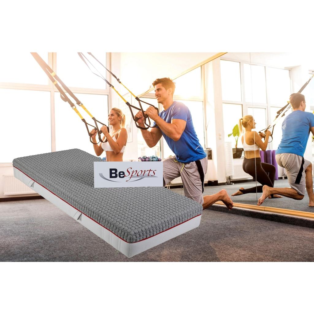 BeSports Taschenfederkernmatratze »T-Dynamic 2300 X-tra«, 500 Federn, (1 St.), Top für Rücken, Muskulatur und ihre Fitness