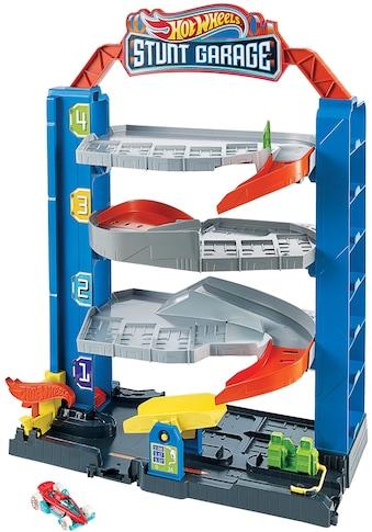 Hot Wheels Spiel-Parkgarage »Stunt-Garage Spielset, Parkhaus«, inklusive 1 Spielzeugauto kaufen