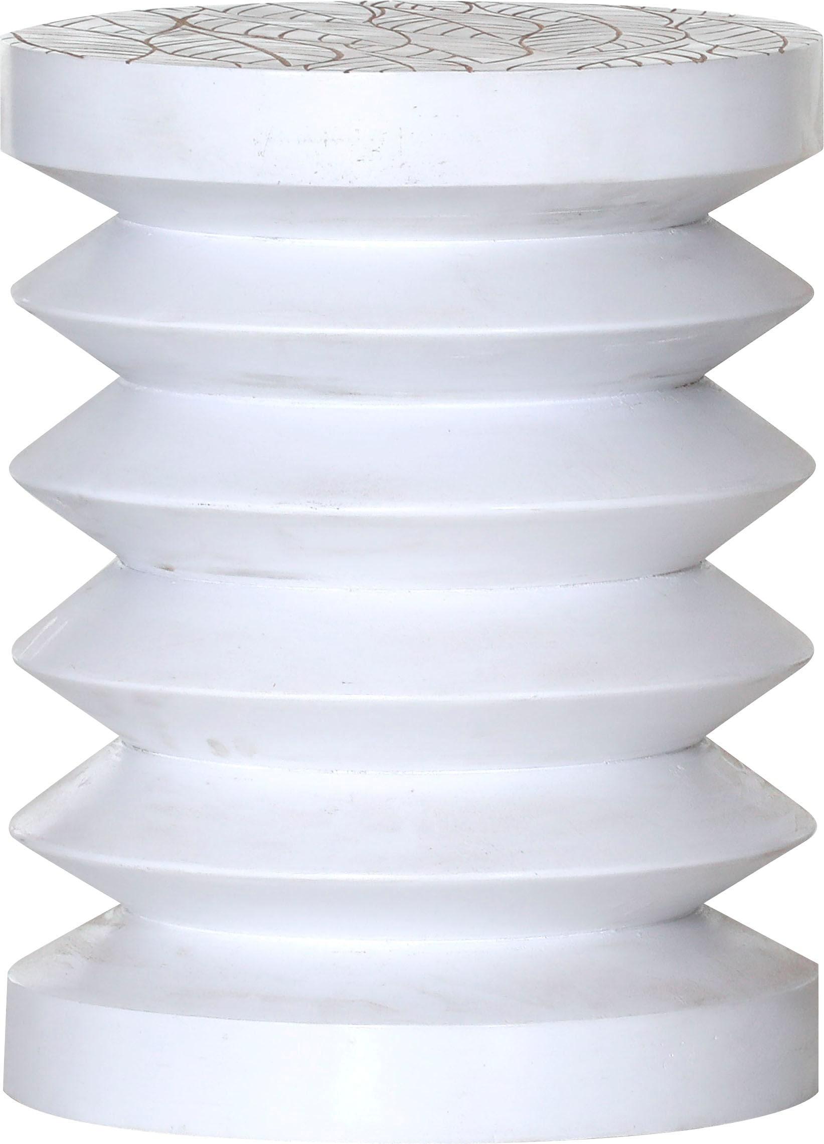 Gutmann Factory Beistelltisch weiß Beistelltische Tische