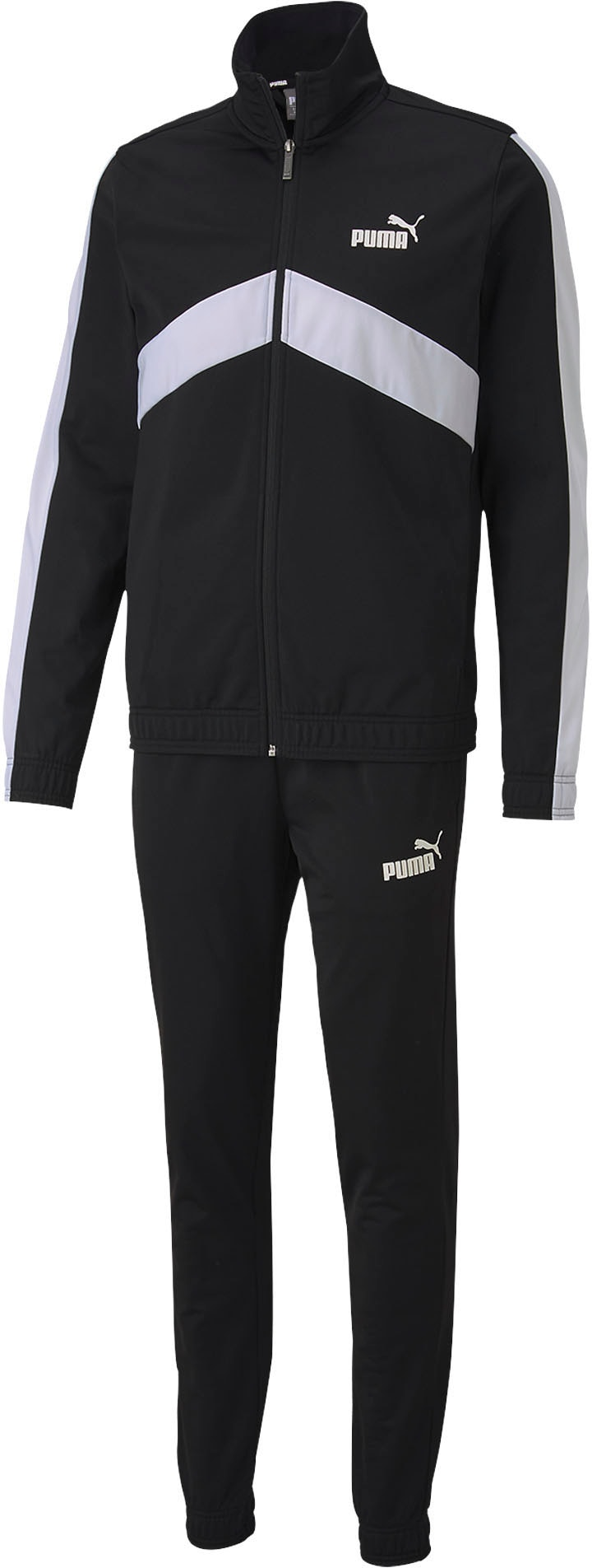 PUMA Trainingsanzug Classic Tricot Suit (Set, 2 tlg.) schwarz Herren Trainingsanzüge Sportbekleidung