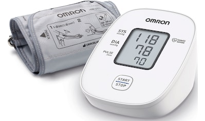 Omron Blutdruckmessgerät »X2 Basic«, klinisch validierte Genauigkeit mit nur einem... kaufen