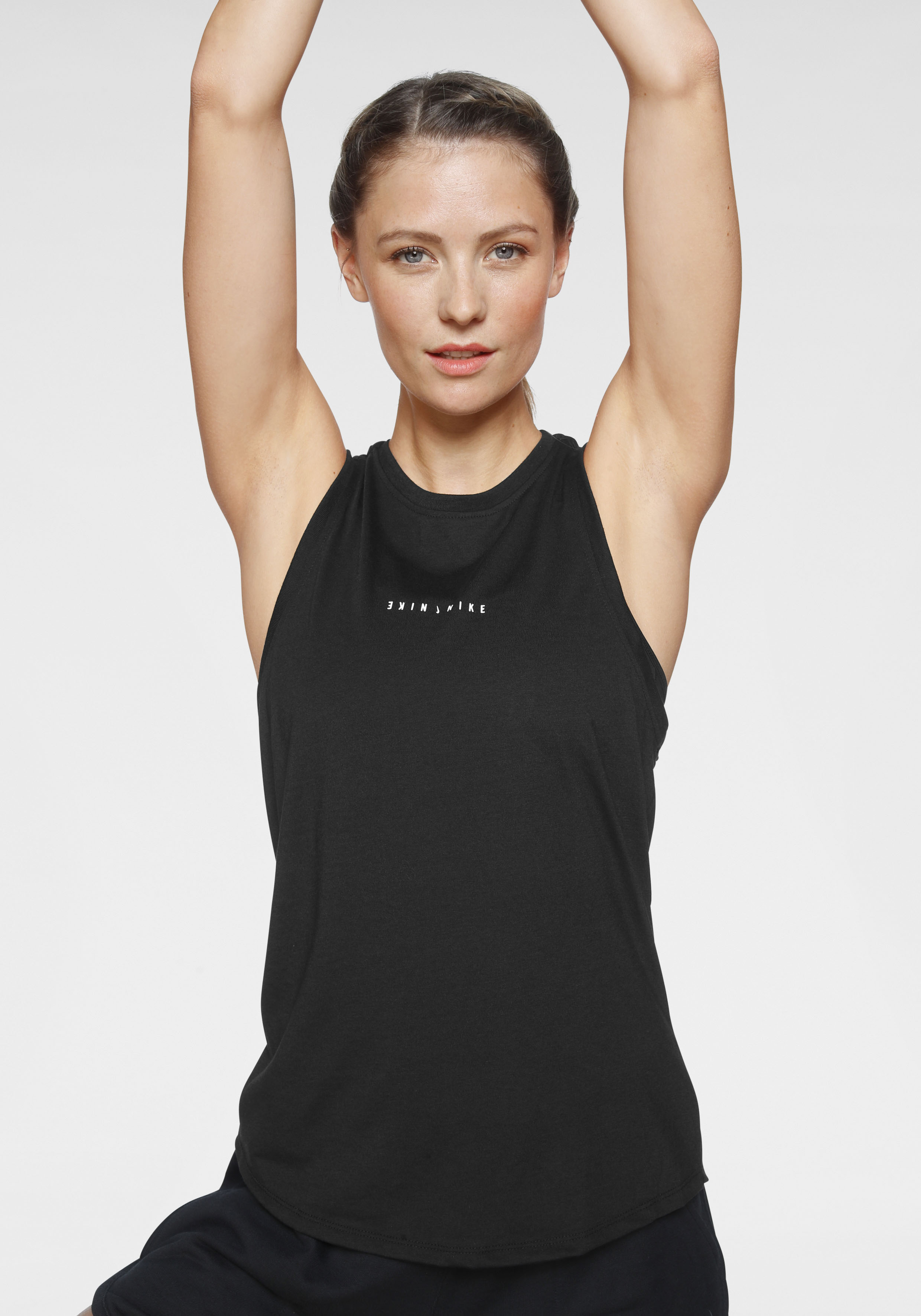 Nike Yogatop Dri-FIT Women's Yoga Training schwarz Damen Ärmellose Shirts Sweatshirts Tops