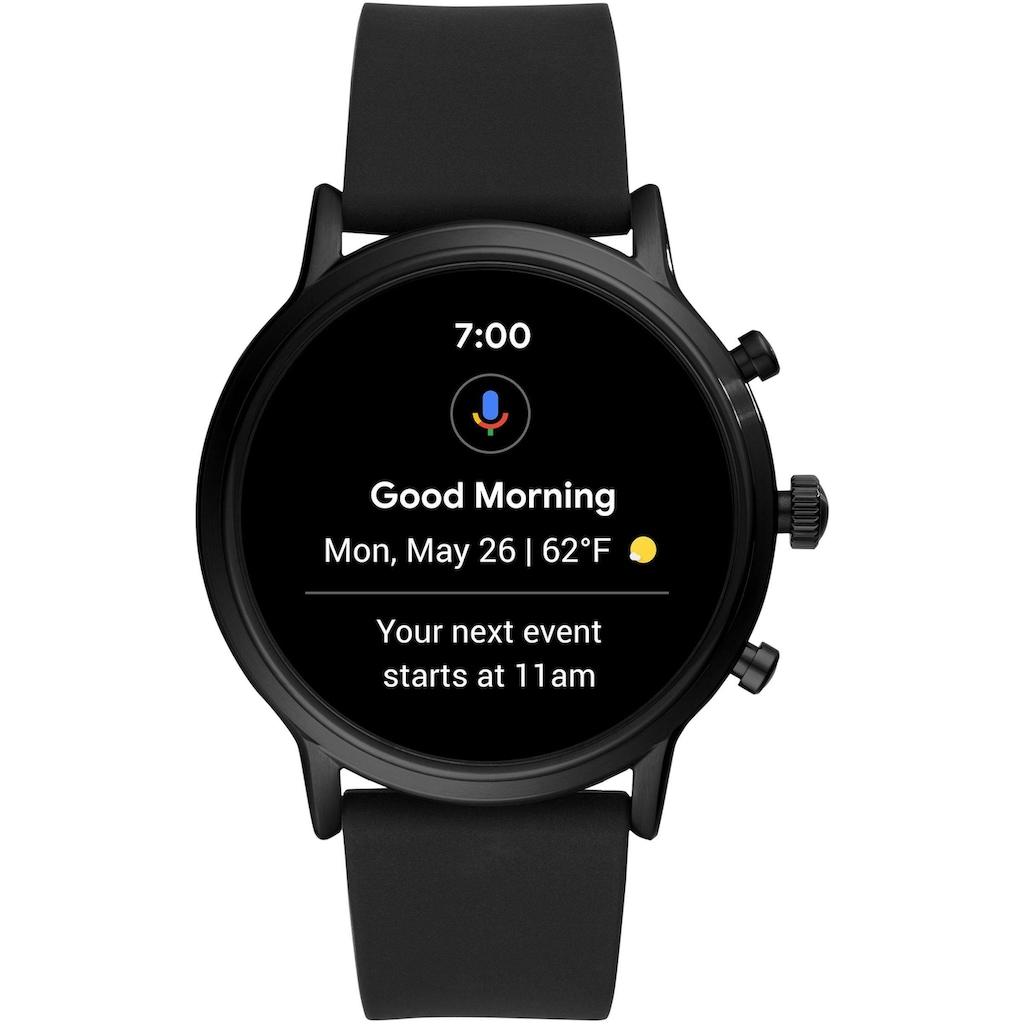 Fossil Smartwatches Smartwatch »THE CARLYLE HR SMARTWATCH, FTW4025«, (mit individuell einstellbarem Zifferblatt)