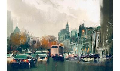 queence Leinwandbild »Straßenverkehr« kaufen