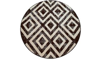 Teppich, »Poco 821«, Paco Home, rund, Höhe 7 mm, maschinell gewebt kaufen