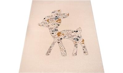 Kinderteppich, »Little Deer«, Zala Living, rechteckig, Höhe 15 mm, maschinell gewebt kaufen
