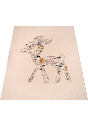 Zala Living Kinderteppich »Little Deer«, rechteckig, 15 mm Höhe, Spielteppich, besonders weich durch Microfaser kaufen