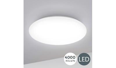 B.K.Licht LED Deckenleuchte »Leonis«, LED-Board, Neutralweiß, LED Deckenlampe 28cm 12W Wohnzimmer Design-Lampe Leuchte Weiß kaufen