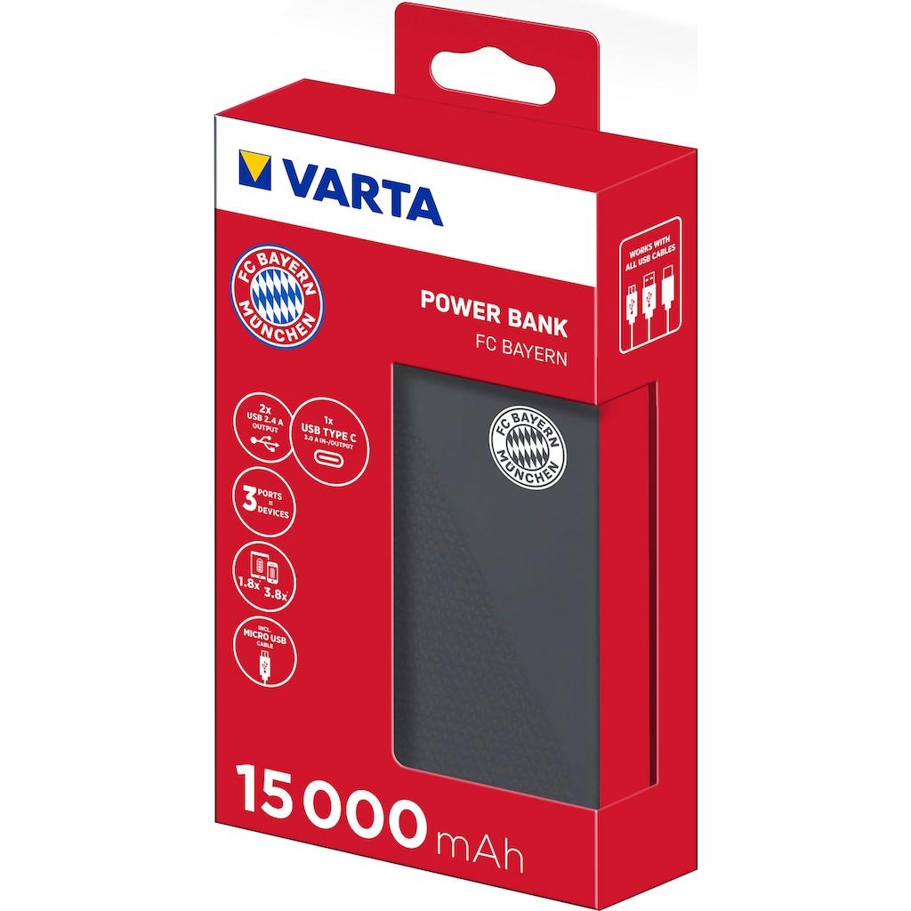 VARTA Powerbank »Power Bank FC BAYERN«