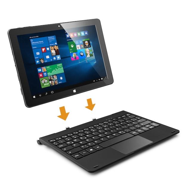 CSL Tablet - lautlos, Full HD, AC WLAN, 4GB RAM, max. 512 GB SSD »Panther Tab HD, Windows 10«