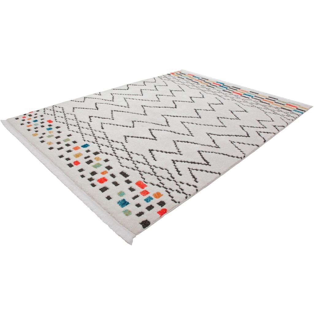 andas Teppich »Saif«, rechteckig, 23 mm Höhe, ethno, Wohnzimmer
