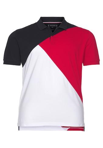 Tommy Hilfiger Poloshirt »DIAGONAL COLORBLOCK REGULAR POLO« kaufen