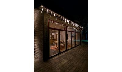 KONSTSMIDE LED-Lichtervorhang, 96 St.-flammig, LED Eiszapfen Lichtervorhang, 32... kaufen
