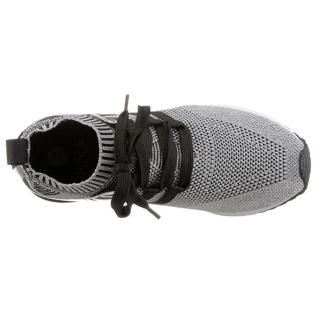 La Strada Slip-On Sneaker »Fashion Sneaker Slip On«, mit Metallic-Applikation