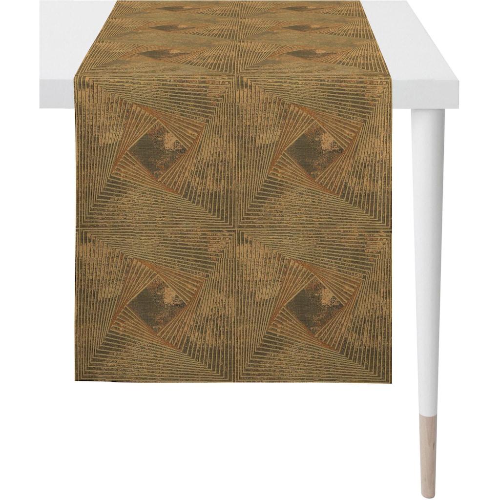 APELT Tischläufer »1307 Loft Style, Jacquard«, (1 St.), Fleckschutz