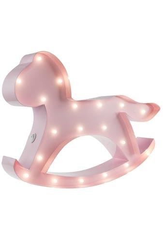 MARQUEE LIGHTS LED Dekolicht »Schaukelpferd«, 1 St., Warmweiß, Wandlampe, Tischlampe... kaufen