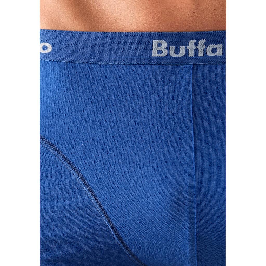 Buffalo Boxer, (Packung, 3 St., 3er-Pack), mit Overlock-Nähten vorn