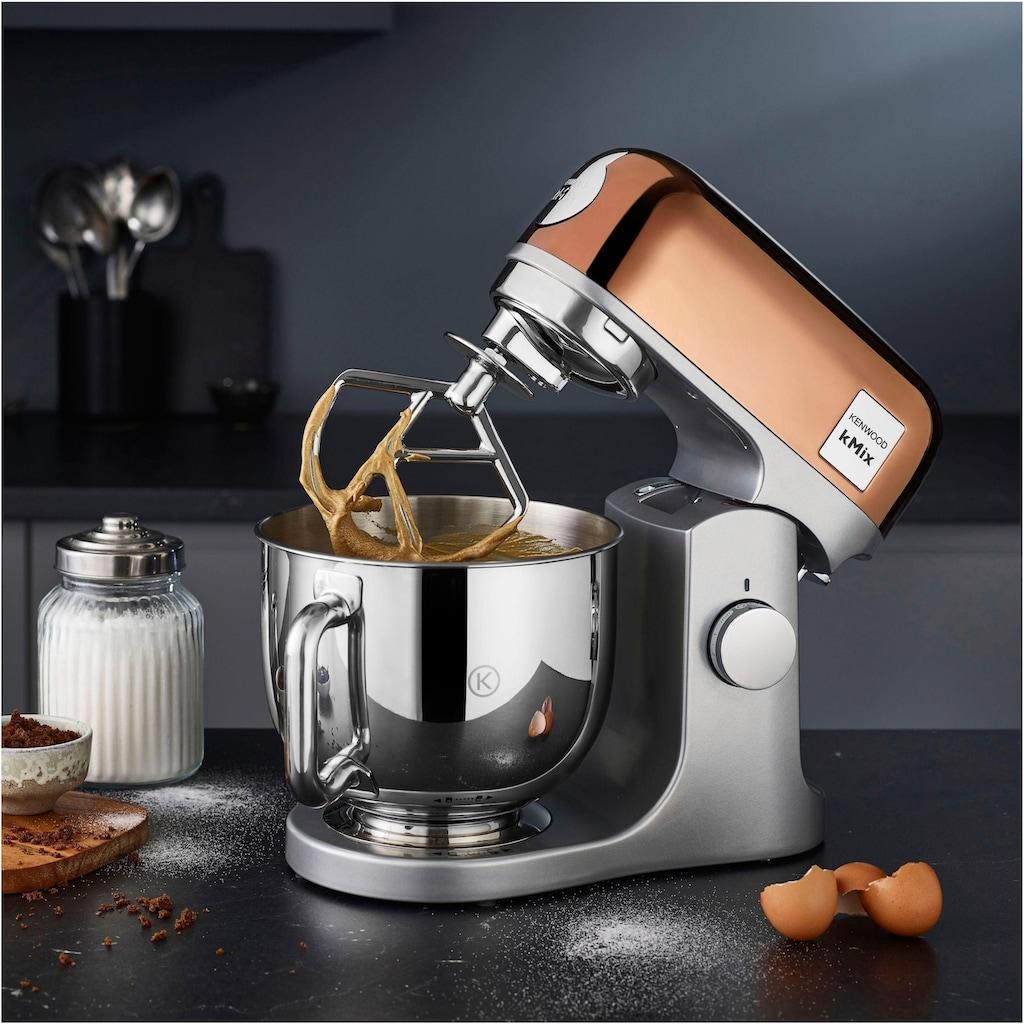KENWOOD Küchenmaschine »KMX760GD kMix Premium Edition«, 1000 W, 5 l Schüssel, Rose Gold mit 3-teiligem Pâtisserie-Set