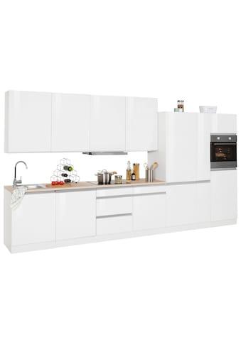 HELD MÖBEL Küchenzeile »Ohio«, mit E-Geräten, Breite 390 cm kaufen