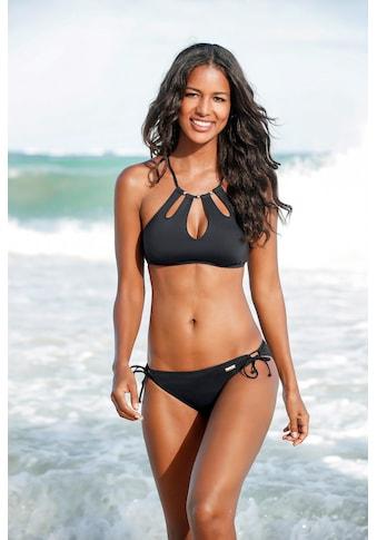 LASCANA Bustier-Bikini-Top »Italy«, mit Zierperlen kaufen
