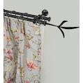 GARESA Gardinenstange »Esperanca Zweig«, 2 läufig-läufig, Wunschmaßlänge, inkl. je10 cm einen Ring + FH, Träger, Endknöpfe