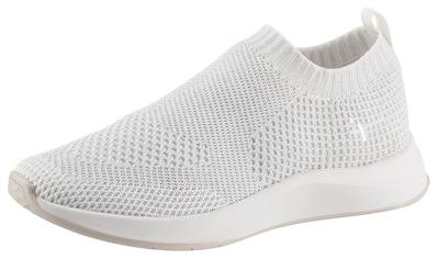 Tamaris Slip-On Sneaker »Fashletics«, mit feinem Metallic-Schimmer kaufen