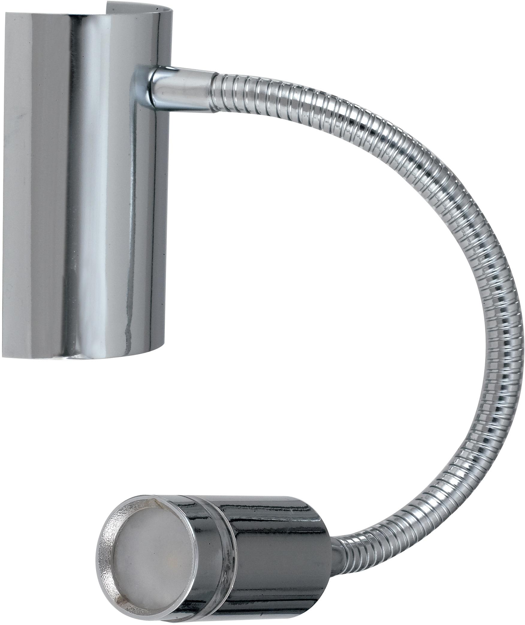 LUCE Design LED Wandleuchte LED-KEPLER-CR, LED-Modul, 1 St., Warmweiß