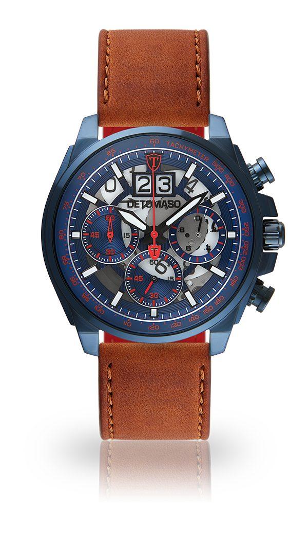 Detomaso Chronograph LIVELLO BLUE BLUE RED | Uhren > Chronographen | Blau | Detomaso