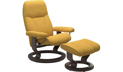 Stressless® Relaxsessel »Consul«, mit Hocker, mit Classic Base, Größe M, Gestell Wenge kaufen