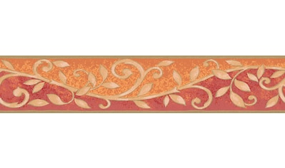 A.S. Création Bordüre »Only Borders«, unifarben mit Farbeinsatz, barock kaufen