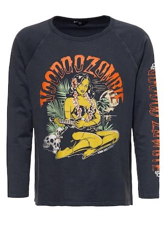 KingKerosin Sweater »Voodoo«, mit Raglanärmeln und legerem Enzymwash-Effekt kaufen
