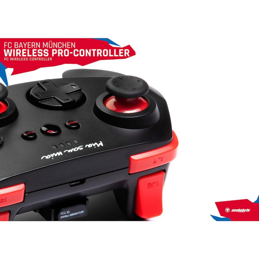 Snakebyte PC-Controller »FC Bayern München PC Wireless Pro Controller«
