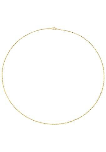 JOBO Collier, 750 Gold diamantiert 42 cm 1,0 mm kaufen