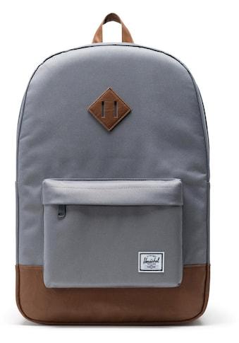 Herschel Laptoprucksack »Heritage, Grey/Tan« kaufen