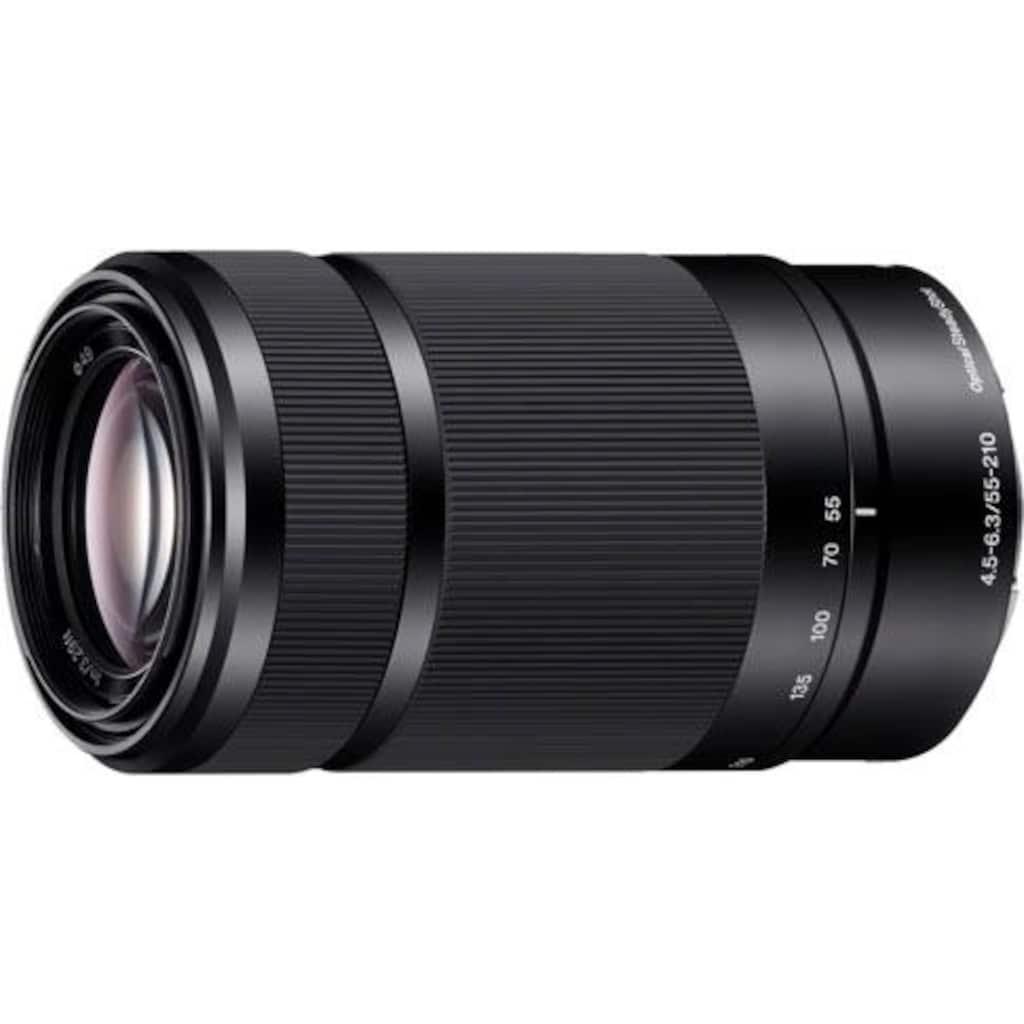 Sony Teleobjektiv »SEL-55210«