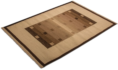 morgenland Wollteppich »Kelim Teppich Modaro«, rechteckig, 6 mm Höhe, Kurzflor kaufen