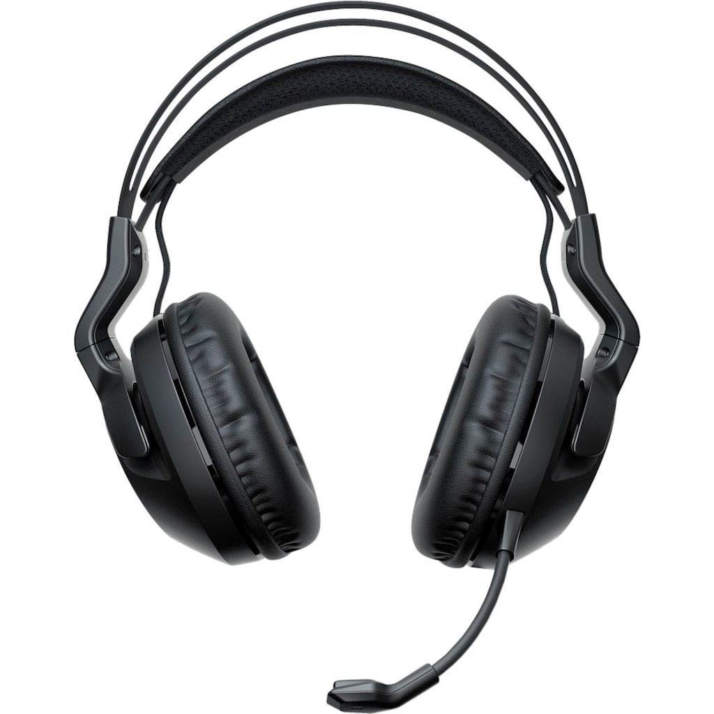 ROCCAT Gaming-Headset »Elo 7.1 Air - Kabelloses Surround-Sound RGB PC Gaming Headset«, Mikrofon abnehmbar-Rauschunterdrückung
