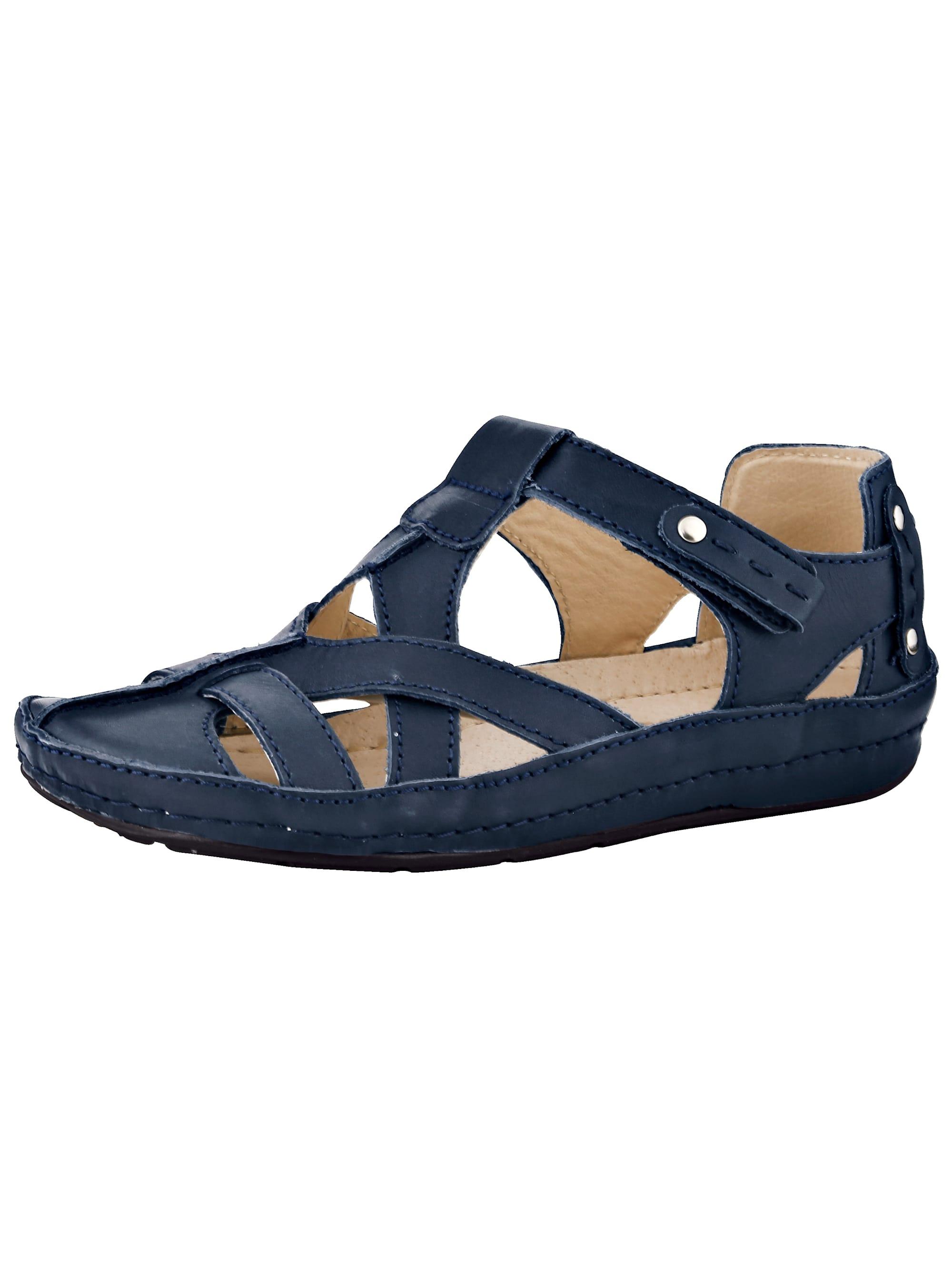 Naturläufer Klettslipper blau Damen Slipper Loafer Business-Schuhe für Sie Slipper/ Halbschuhe