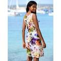Alba Moda Strandkleid mit Aquarelldruck