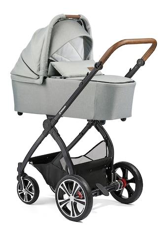 Gesslein Kombi-Kinderwagen »FX4 Life, schwarz/tabak mit Wanne CX3, granitgrau... kaufen