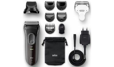 Braun Elektrorasierer »Series 3 3000BT«, 5 St. Aufsätze, Langhaartrimmer, Shave&Style... kaufen